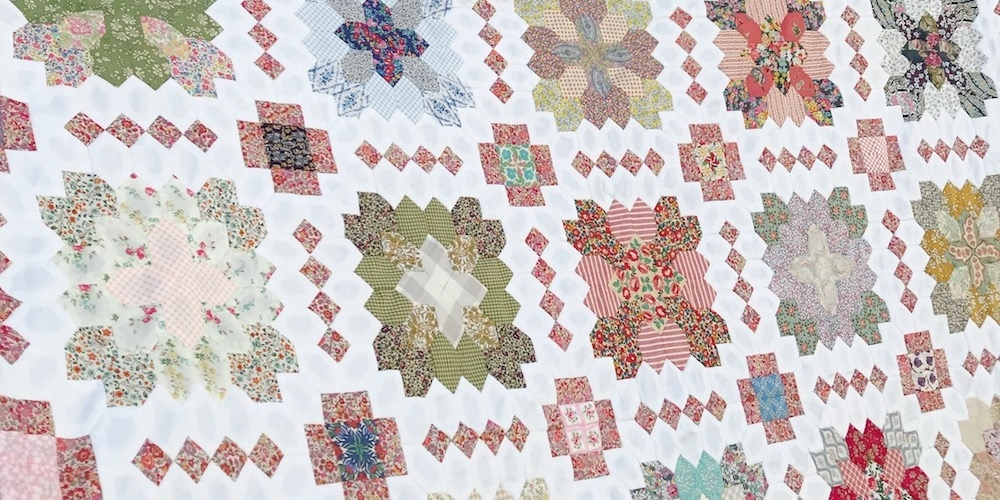 Patchwork of the Crosses quilt club