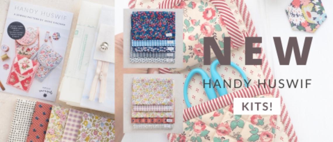 Handy Huswif sewing kit