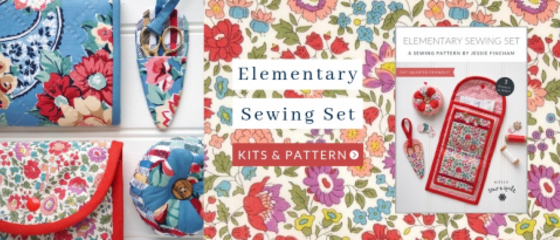 Elementary-Sewing-Set-Pattern-quilting-kit-Liberty-fabric