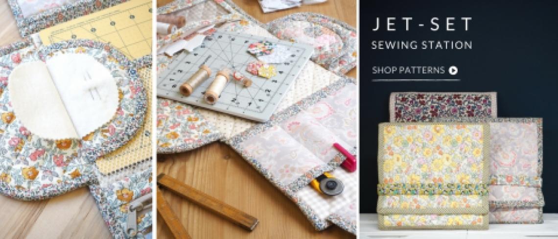 Jet Set Sewing Station