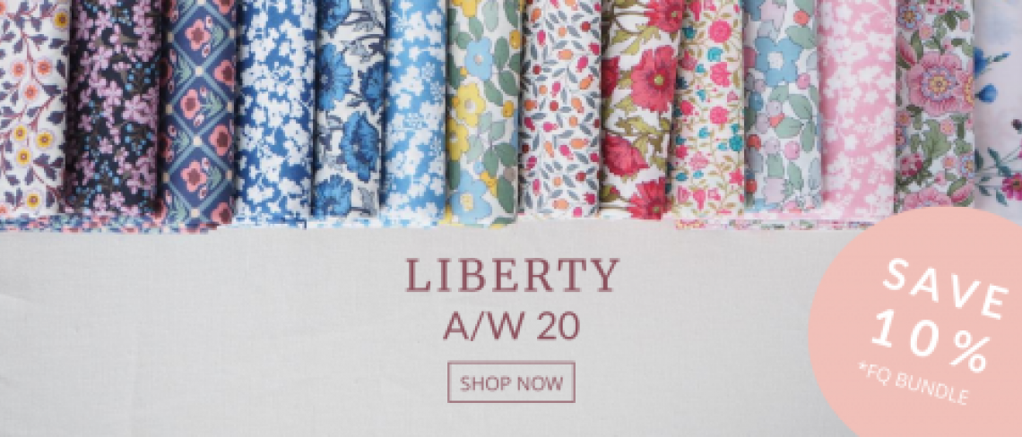 Liberty Private View Autumn Winter 2020 Fabric collection, Save 10%