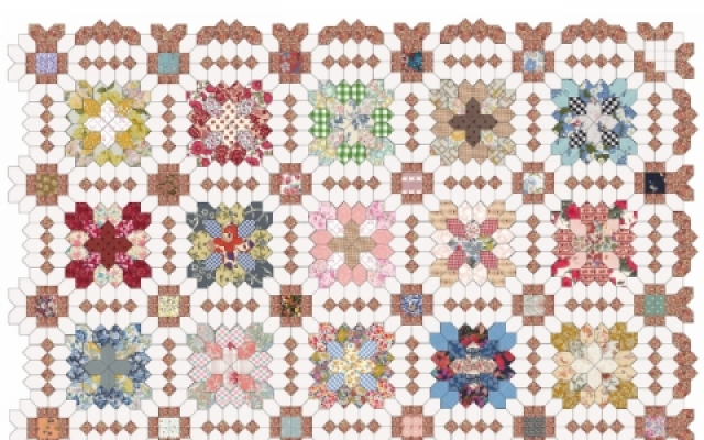 Patchwork of the Crosses, Block of the Month