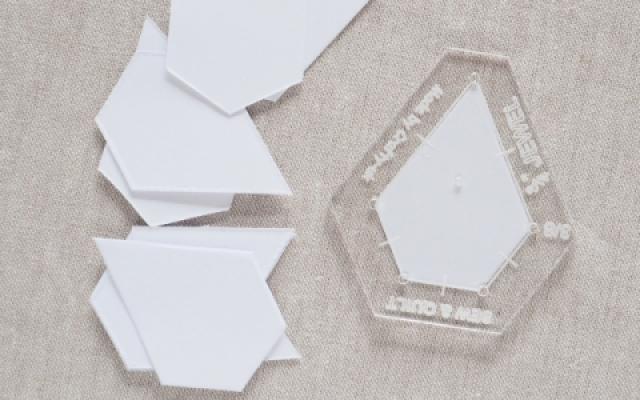 jewel paper pieces