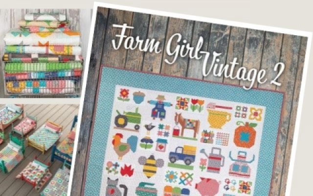 Lori Holt Farm Girl Vintage 2 book