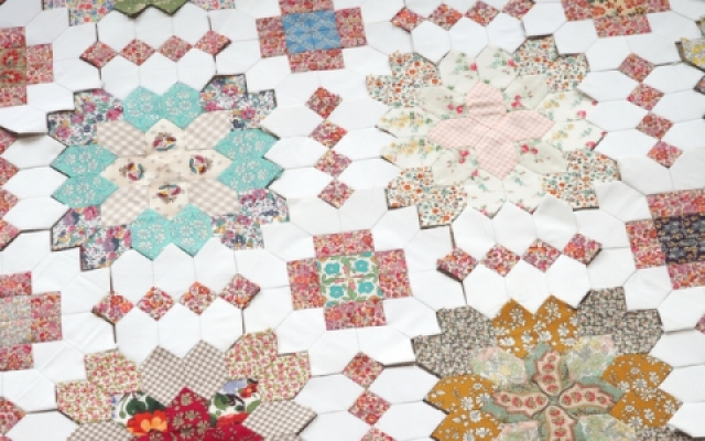 Sew and quilt buy english paper piecing templates liberty the patchwork of the crosses 2018 bom club pronofoot35fo Images