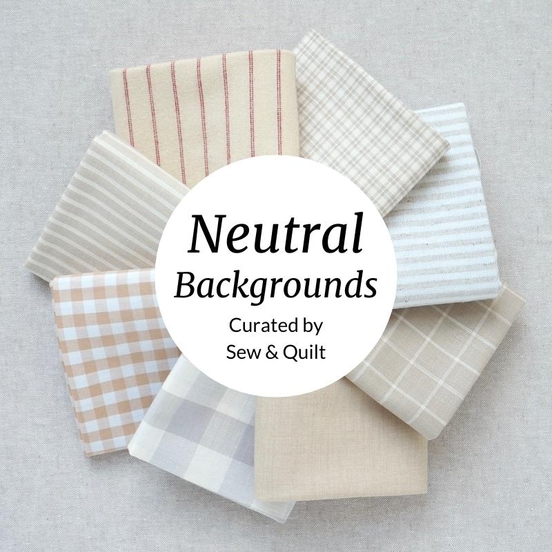 Neutral Backgrounds Fat Quarter Bundle