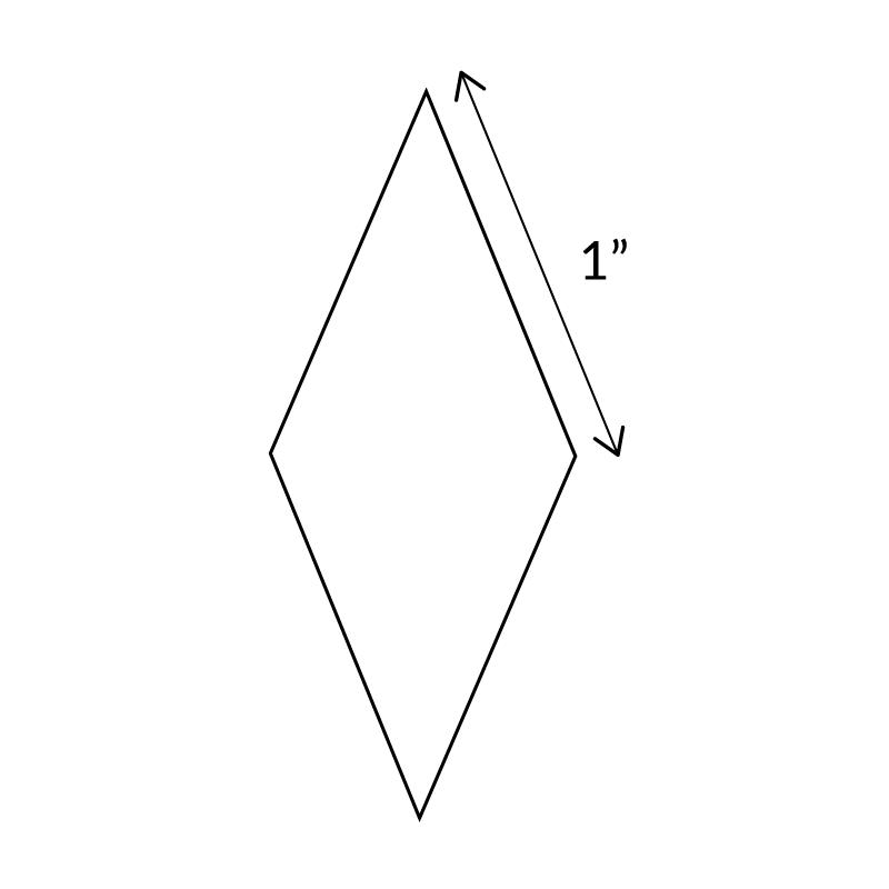 "1""-8-Point-Diamond-English-Paper-Pieces"