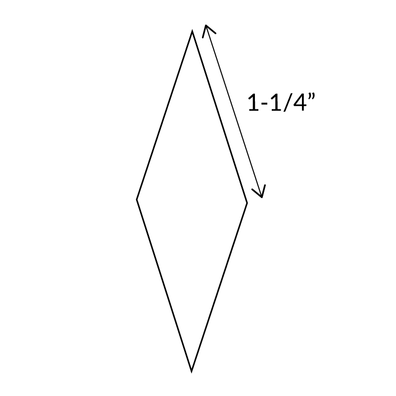 "1-1/4""-10-Point-Diamond-English-Paper-Pieces"