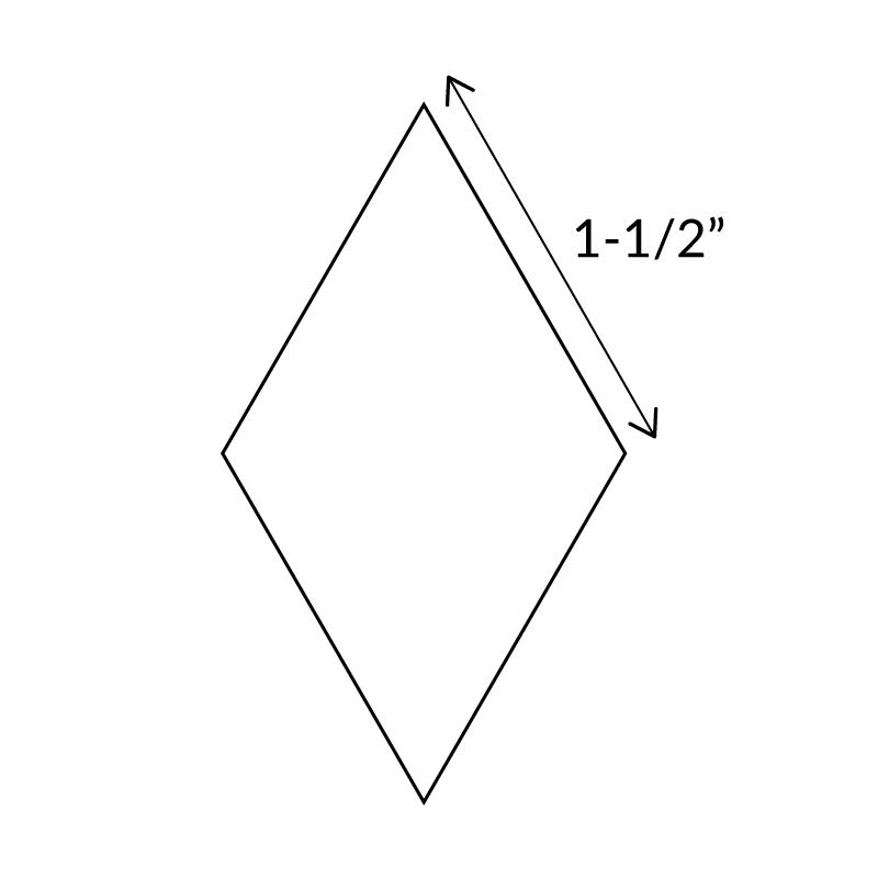 "1-1/2""-6-Point-Diamond-English-Paper-Pieces"