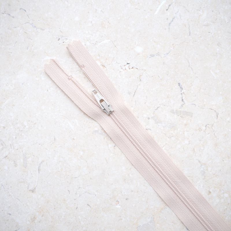 10inch-YKK-beige-dress-zip