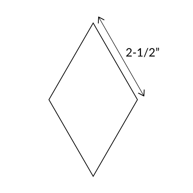 "2-1/2""-6-Point-Diamond-English-Paper-Pieces"