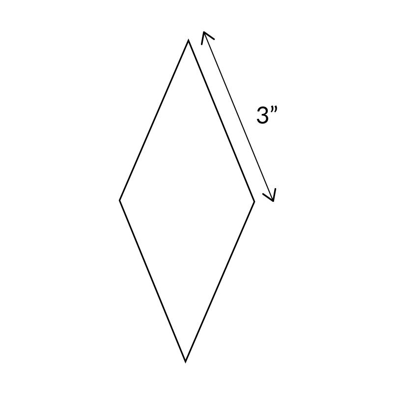 "3""-8-Point-Diamond-English-Paper-Pieces"