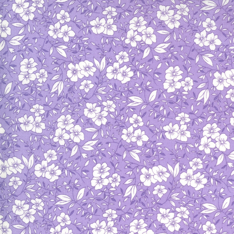 30s Playtime Lilac Friendly Blooms   33592-22