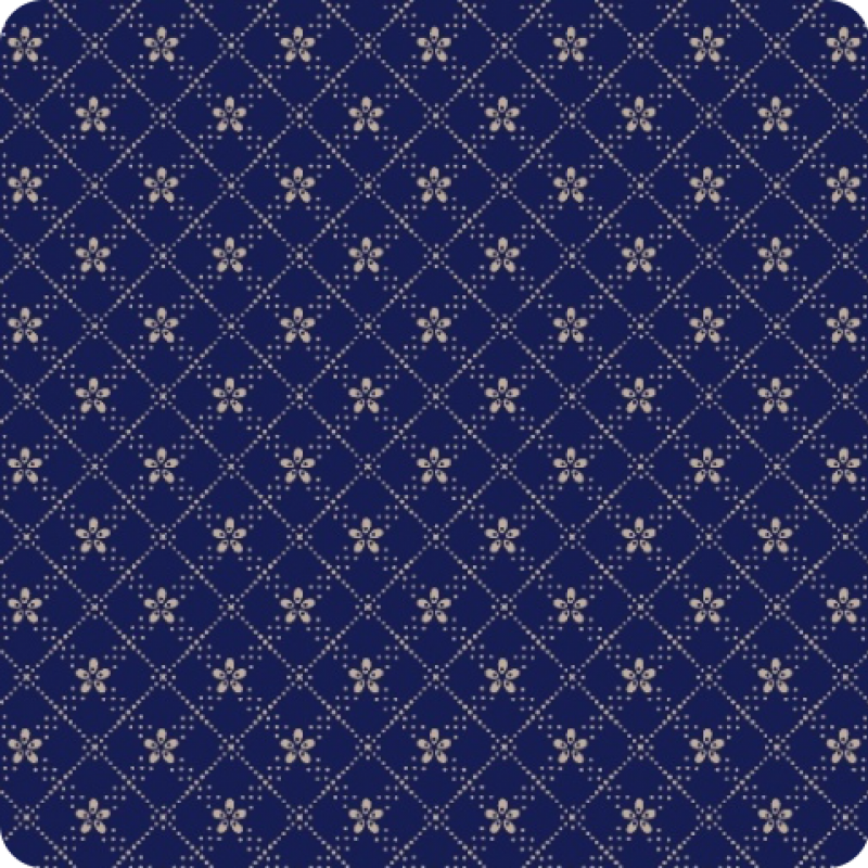 American-Swatch-Book-Blue-Flower-Plaid