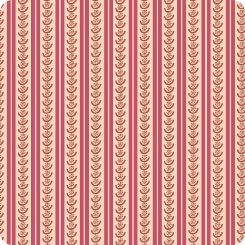 American-Swatch Book-Red-Seeded-Stripes