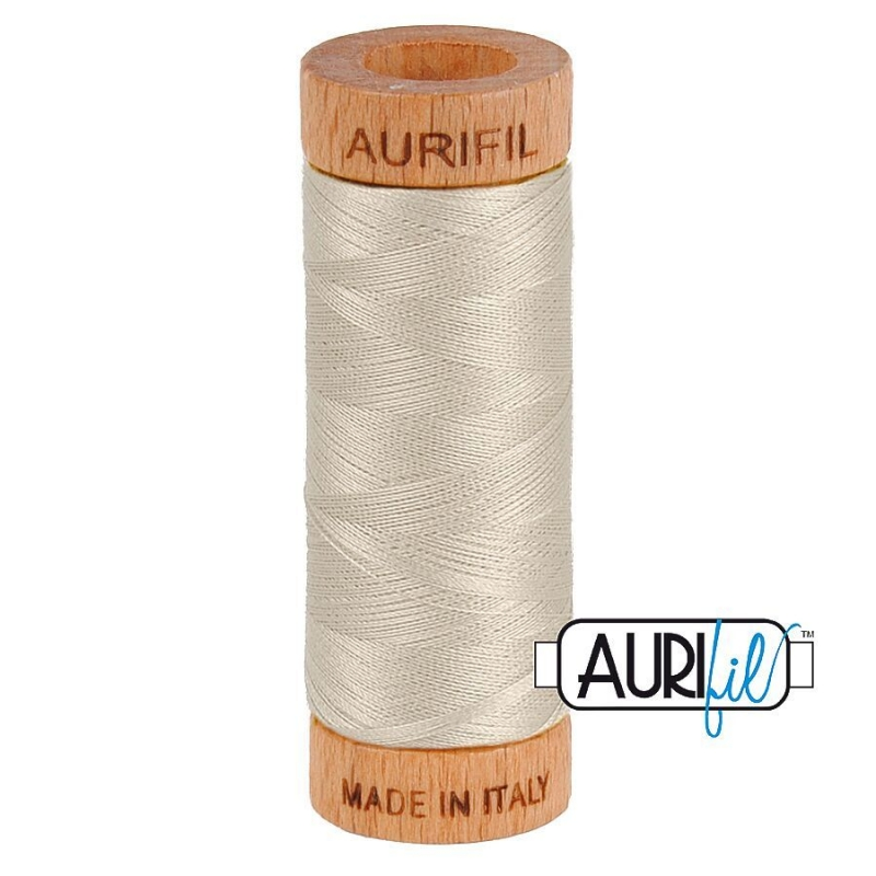 Aurifil 80wt Cotton Thread, Moondust #6725