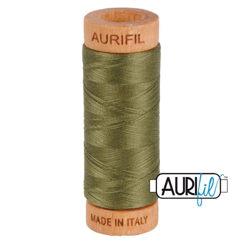Aurifil-80-Cotton-Thread-2905-Army-Green