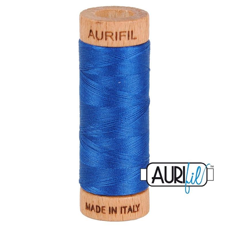 Aurifil 80wt Dark Cobalt #2740 - 100% Cotton Thread