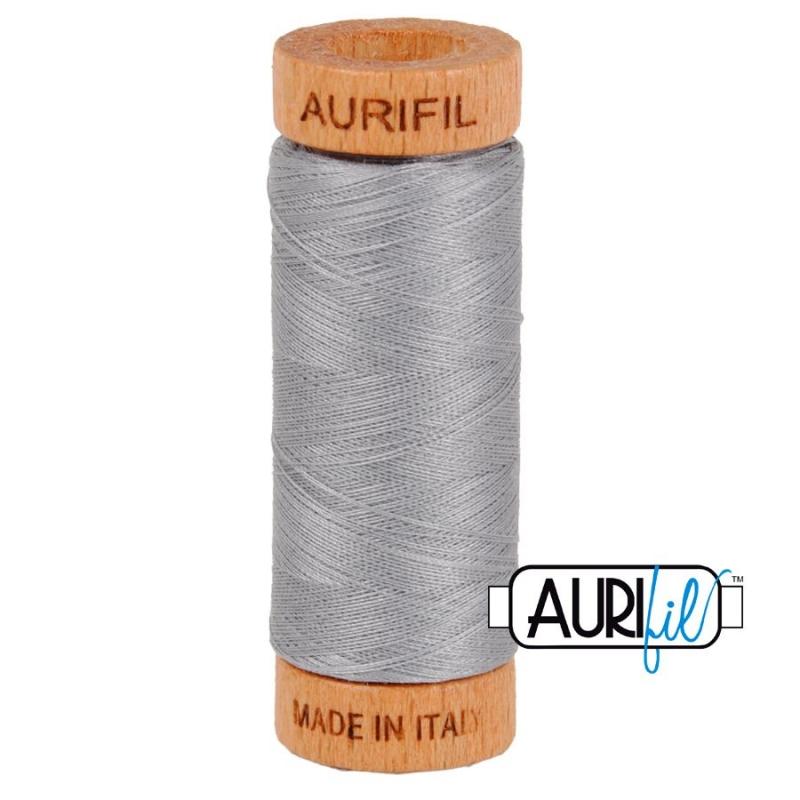 Aurifil 80wt Mist #2606, 100% Cotton Thread