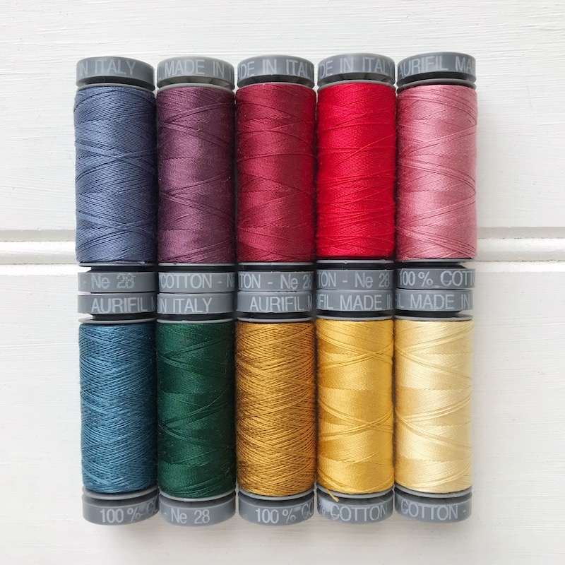 Aurifil-Thread-28WT-cotton-wool-applique-set