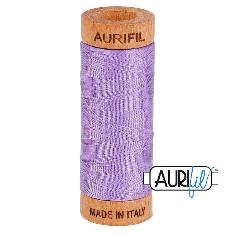 Aurifil 80wt Violet #2520 - 100% Cotton Thread