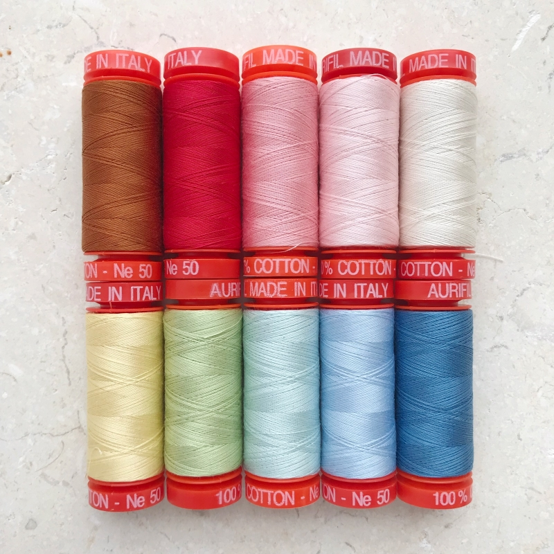 Aurifil-threads-sew-and-quilt-BOM-club