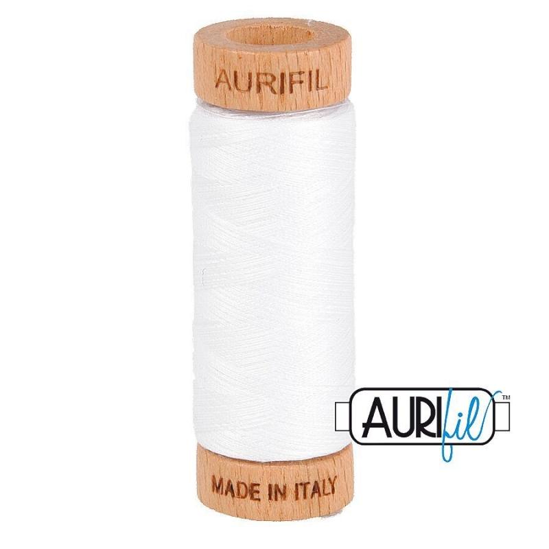 Aurifil_80wt_thread_UK_2024_White