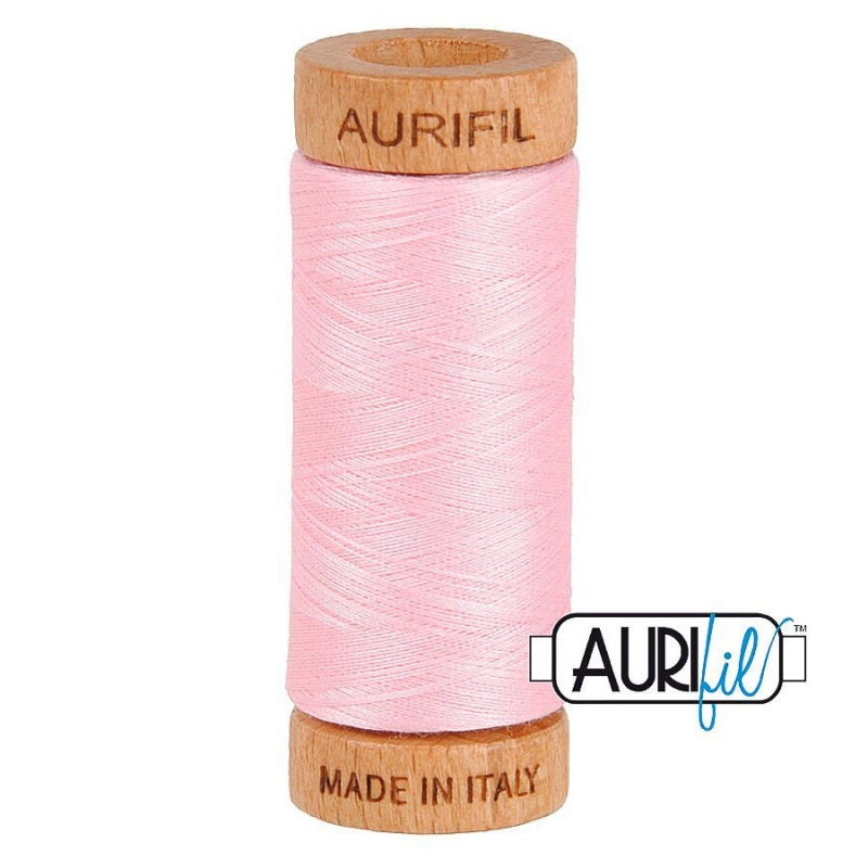 Aurifil_80wt_thread_UK_2423_Baby_Pink