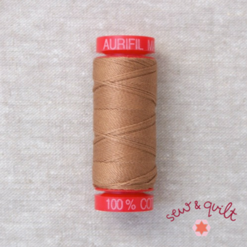 Aurifil_12WT_Cotton_Thread_Cafe-au-Lait_2340