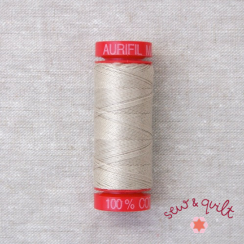 Aurifil_thread_12wt_cotton_UK_6711_Pewter
