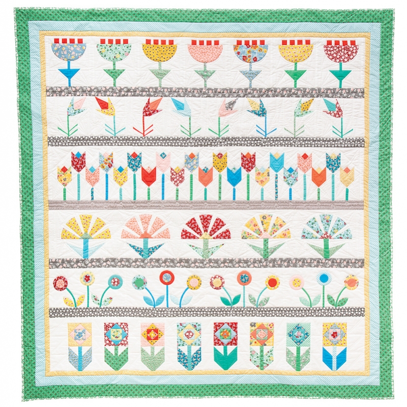 Bedding Plants by Jo Avery Quilt Kit