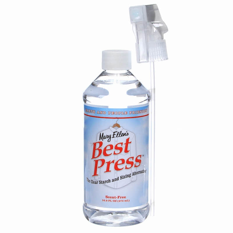 Best Press Spray Starch UK Scent Free 16oz