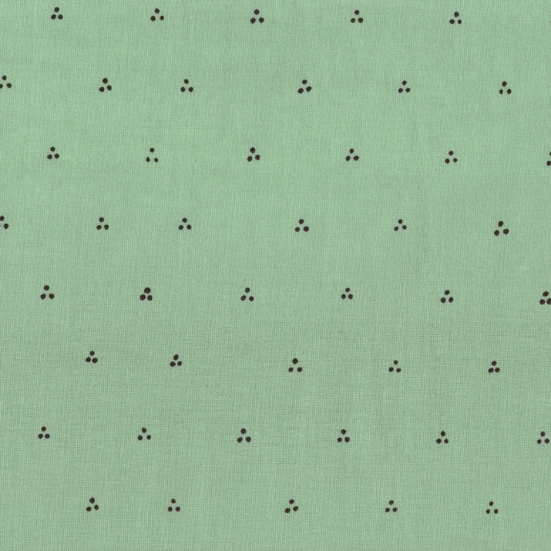 Bungalow Sage Triple Dot | 51473-11 cotton fabric