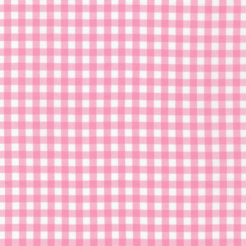 "Carolina Gingham 1/4"" Candy Pink 
