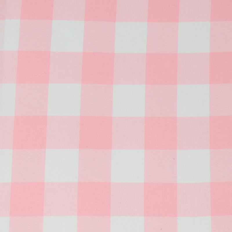 """Carolina Gingham 1"""" Petal Pink cotton fabric"""