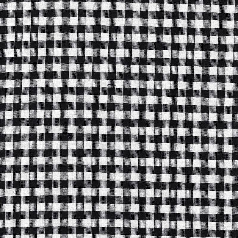 "Carolina Gingham 1/4"" Black 