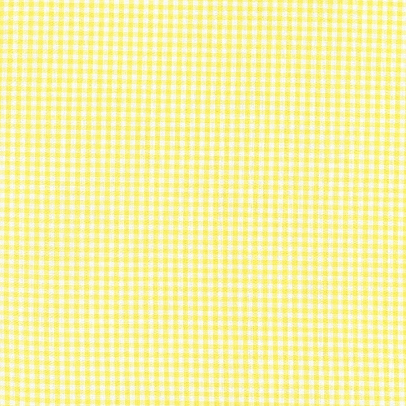 "Carolina Gingham 1/8"" Yellow 