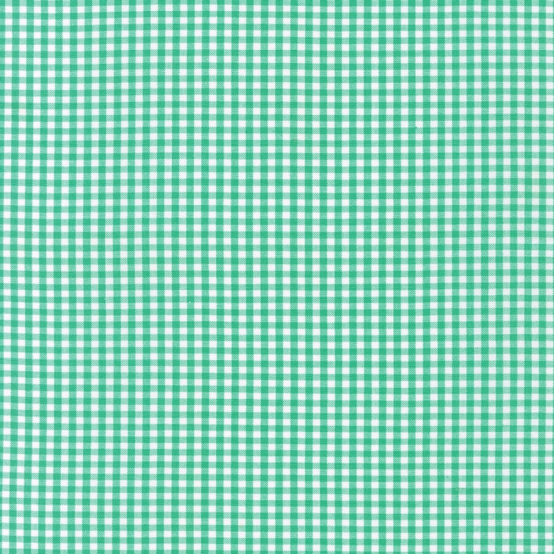 "Carolina Gingham 1/8"" Seafoam 