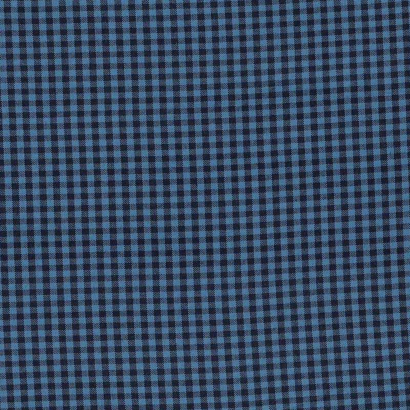 "Carolina Gingham 1/8"" Indigo 
