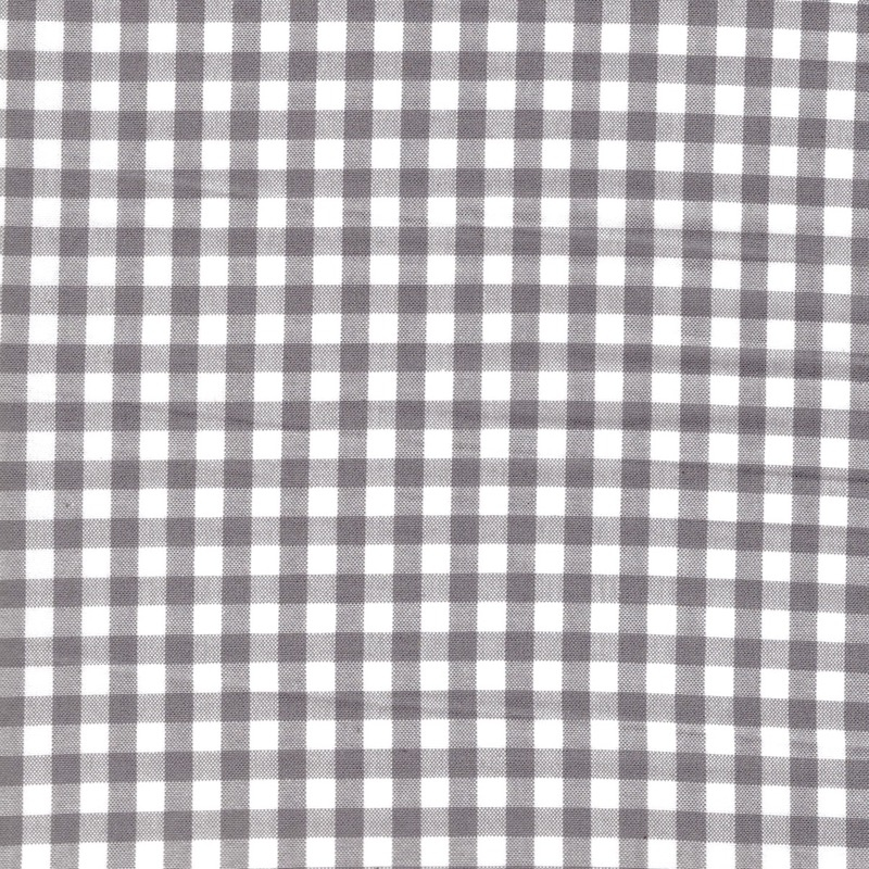 "Carolina Gingham 1/4"" Grey 