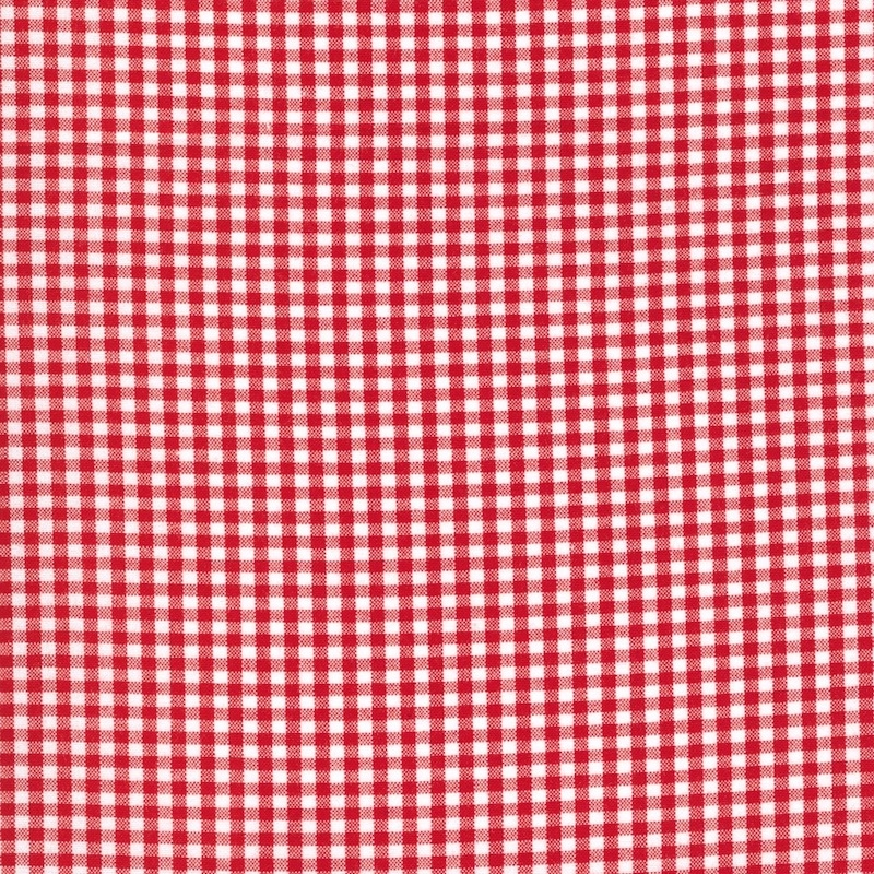 "Carolina Gingham 1/8"" Crimson Red 5689-19"