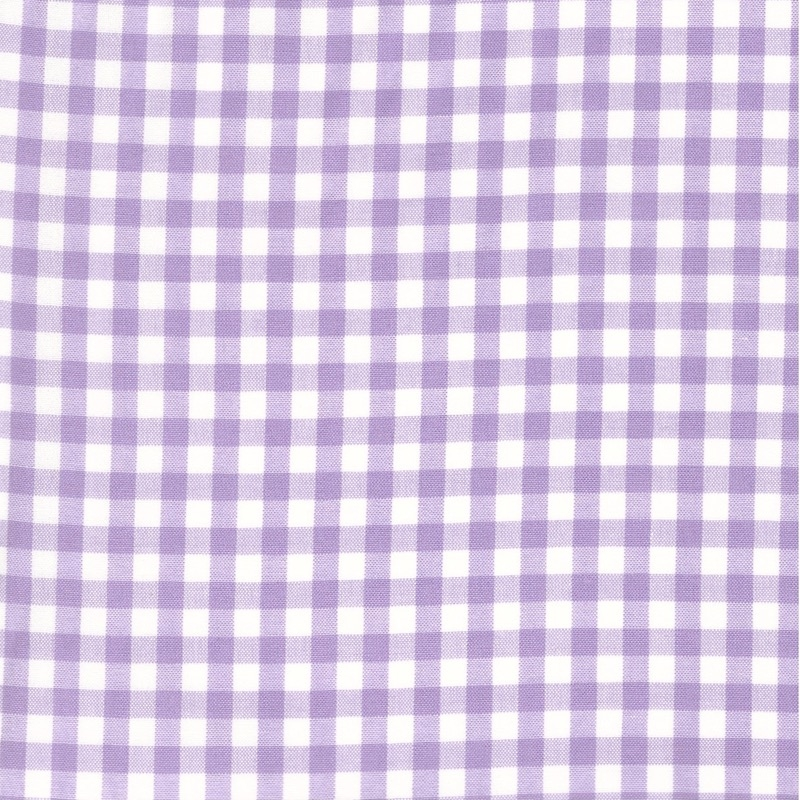 "Carolina Gingham 1/4"" Lavender 