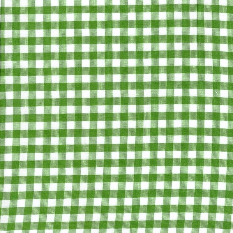 "Carolina Gingham 1/4"" Kelly Green 