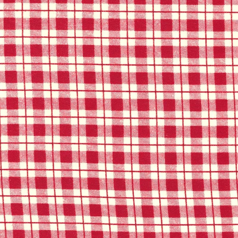 Dad Plaids, Red Stanley Flannel Christmas fabric | 51872F-1