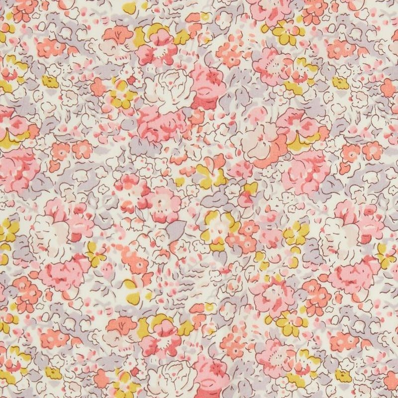 Liberty fabric Claire Aude A Organic Tana Lawn Cotton