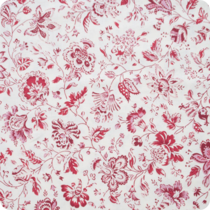 Dutch-Heritage-fabric-China-Red