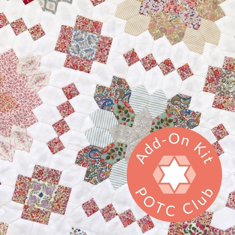 Lucy Boston Patchwork of the Crosses quilt English paper piecing