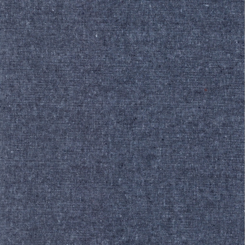 Essex Linen Yarn Dyed Nautical | E064-412 dark blue cotton linen mix fabric