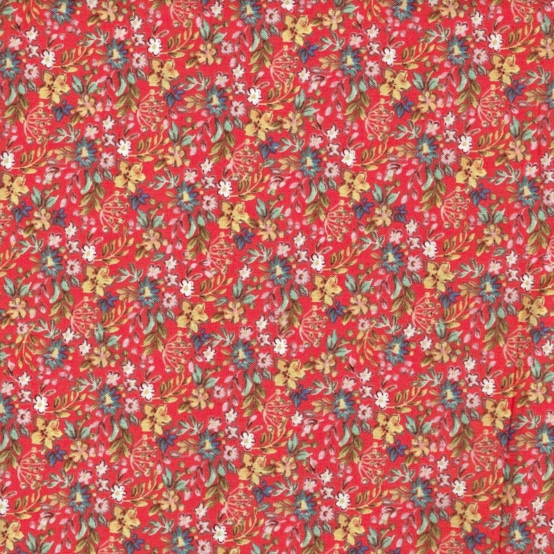 Farm Meadow Tiny Red Floral | 52797-13