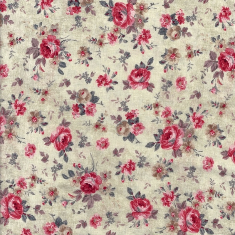 Farmhouse Chic Cream Floral   89241-232